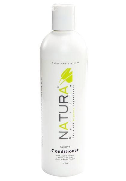 Natura Keratin organikus, keratinos, szulfátmentes balzsam, 355 ml