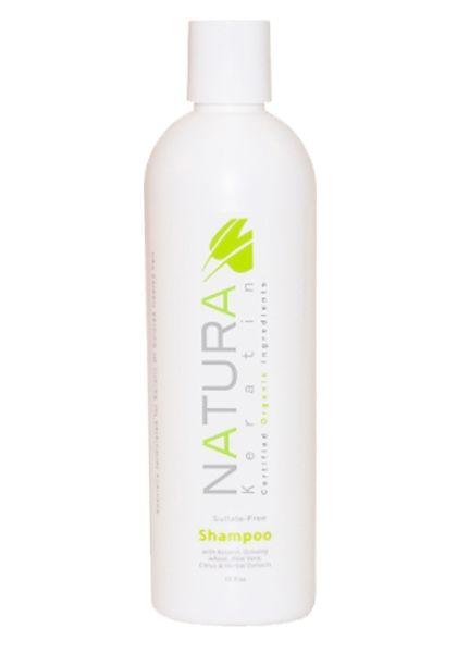 Natura Keratin organikus, keratinos, szulfátmentes sampon, 355 ml