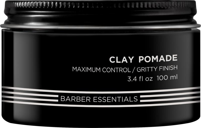 Redken Brews Clay Pomade, hajformázó krém férfiaknak, 100 ml